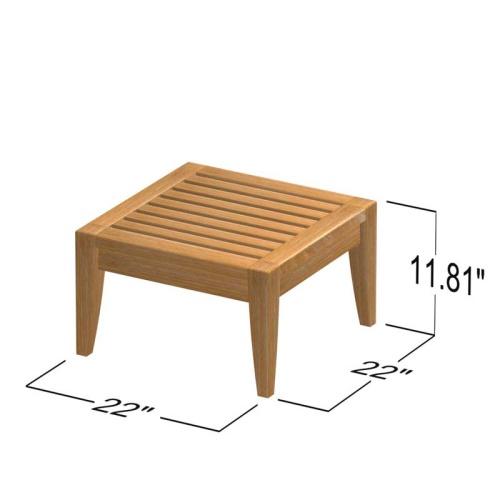 teak stools