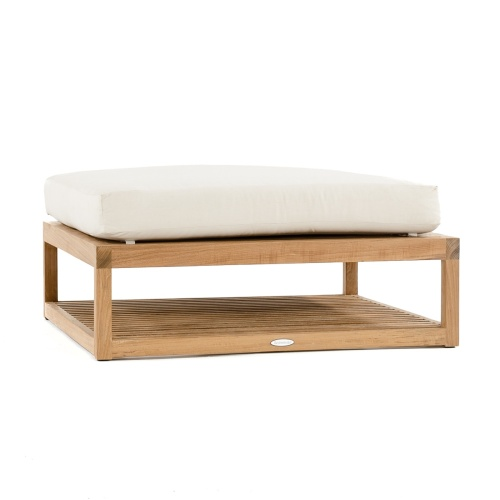teak square patio ottoman
