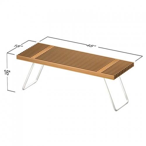 teak folding benches