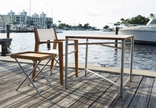 Marine Grade Teak and Stainless Sets