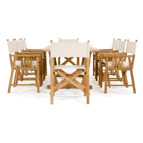 montserrat oval large extension table