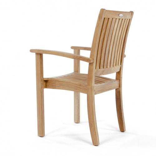 vintage teak dining chairs