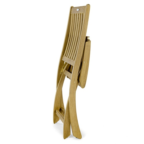 folding teak fishing chair