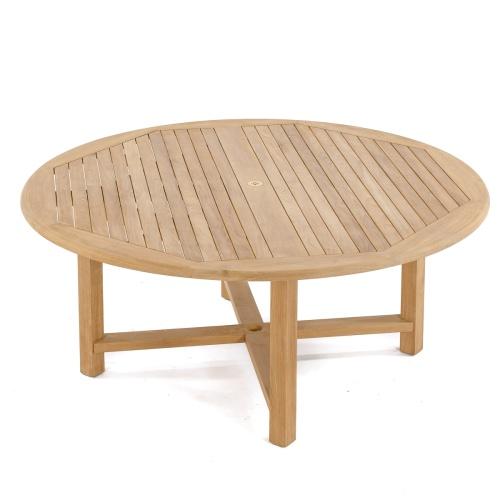 6ft Buckingham Round Table