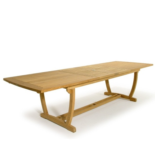 westminster teak grand extendable table