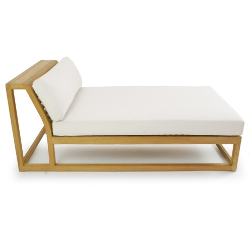 deep lounger wooden outdoor