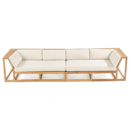 teak outdoor sofa same day shipping