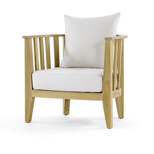 teak club chairs for sale