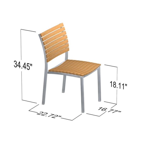 outside dining side chair