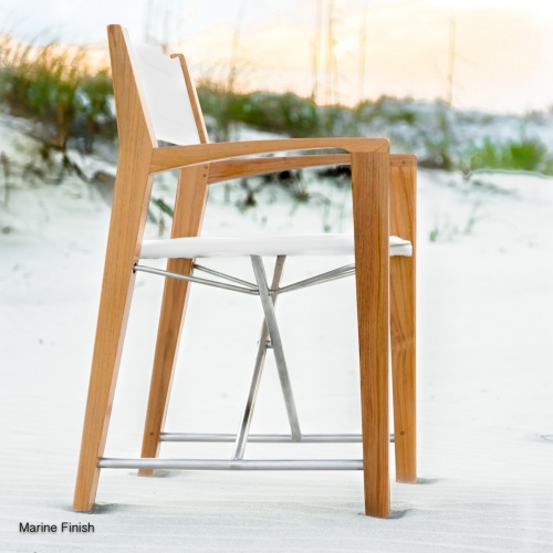 custom yacht folding chairs