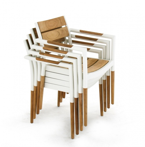wooden outdoor dining chairs