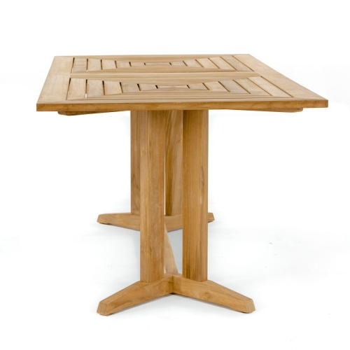 teak outdoor dining table rectangular