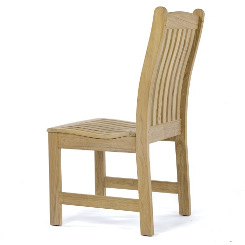 teak patio side chair