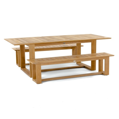 best teak picnic bench sets