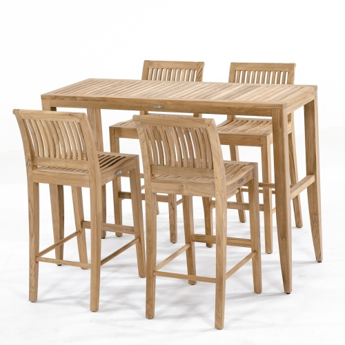 teak wood bar sets