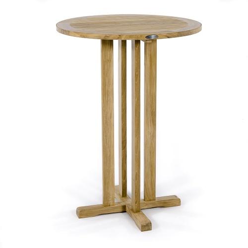 bar teak outdoor table teak