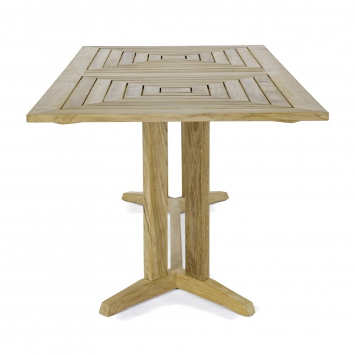 teak rectangular patio tables