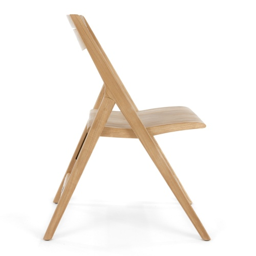 teakwood flding cocktail chair