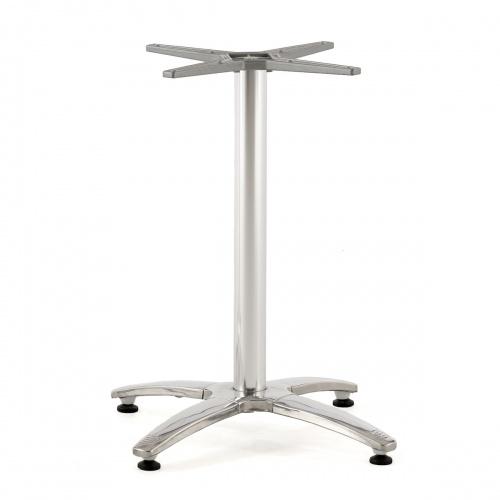 small teak tables pedestal base
