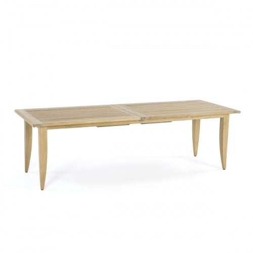 teakwood 11ft dining table with butterly leafs