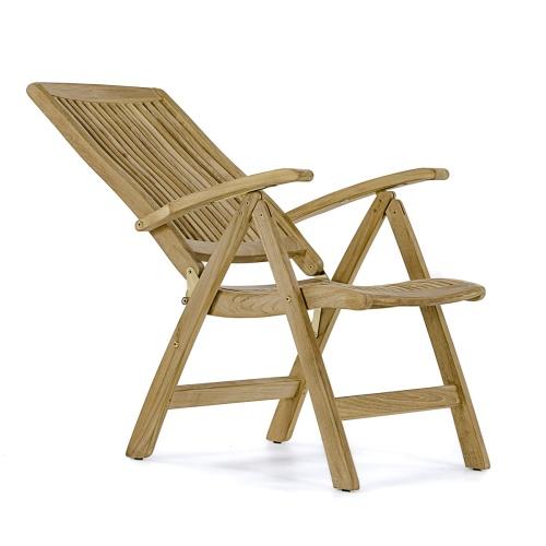 high end teak recliner chairs