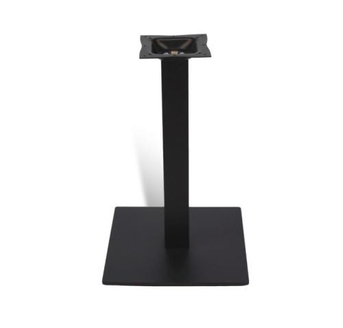teak bar table base metal