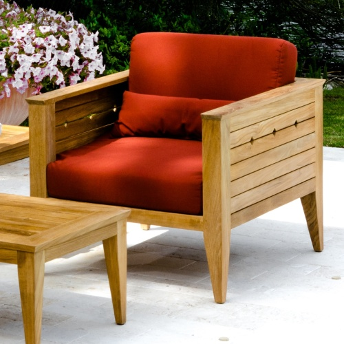 craftsman style outdoor furniture teak