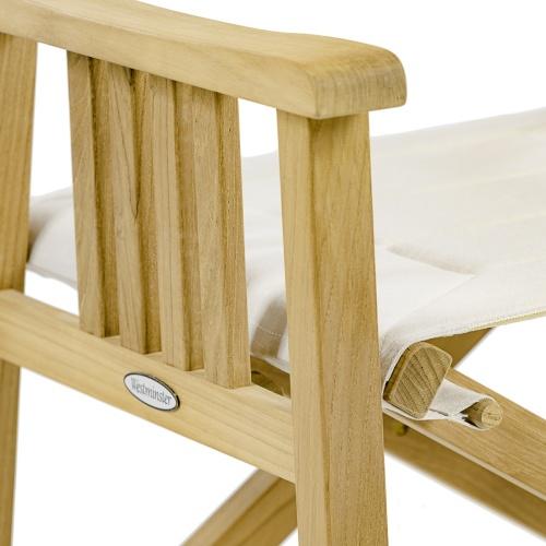 teak wood director chairs