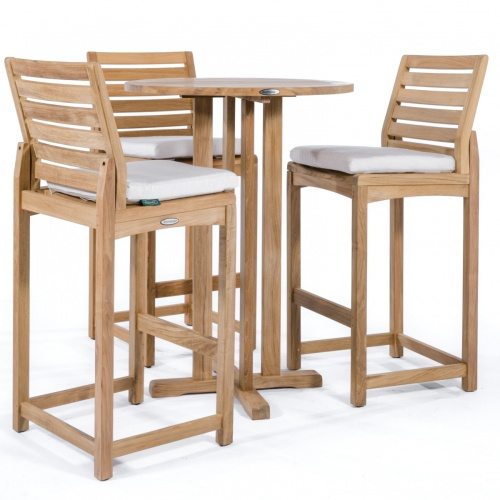high bar table and chair set
