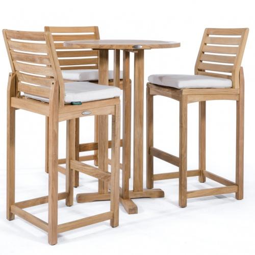 high bar table and chair set