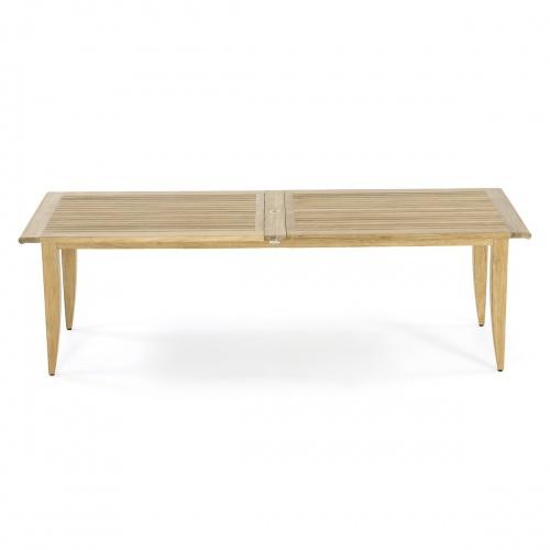 teak table extendable
