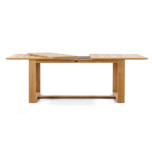 teak adjustable dining table