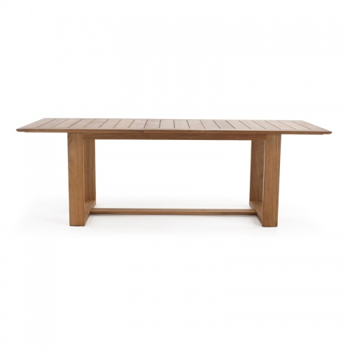 large indoor teak tables
