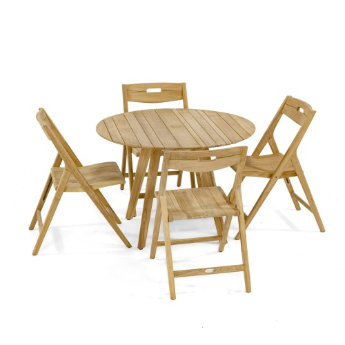 teak dining table wooden legs