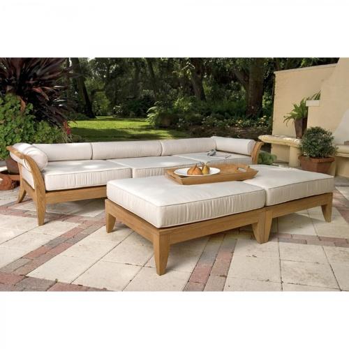 deep seating sofa with cushions
