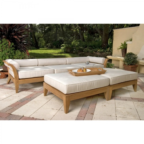 luxury outdoor wood furniture