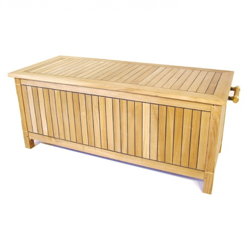 outdoor teak storage