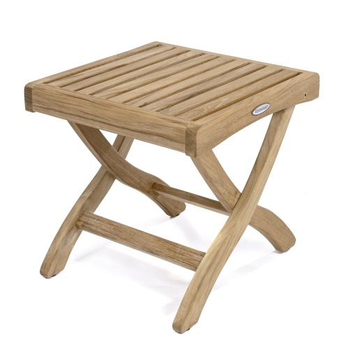 teak wood foot stool