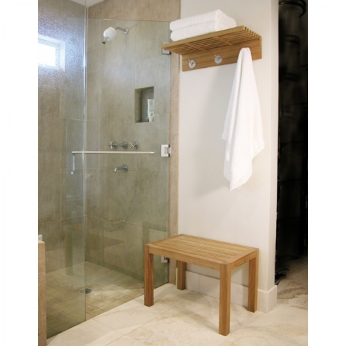best teak shower bench