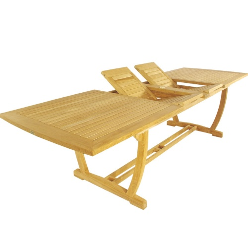 teak extension tables