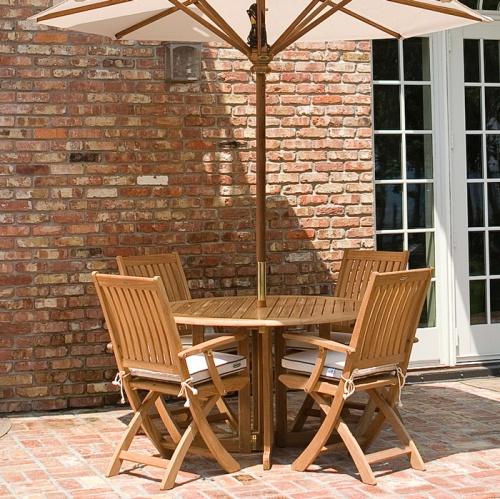 folding wooden gateleg table