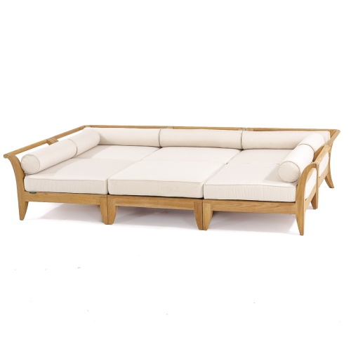 teak outdoor furniture deep seating