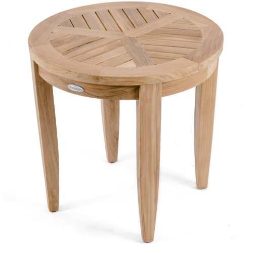 imported teak side tables