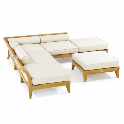 teak outdoor modular sectional