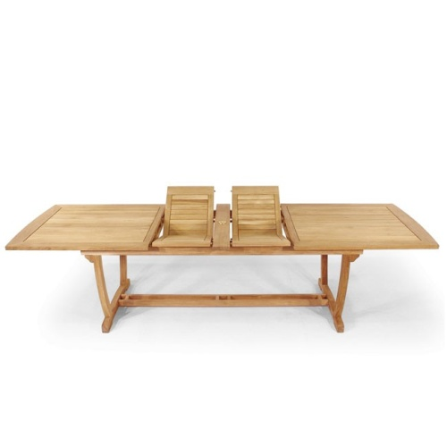 westminster teak extension table