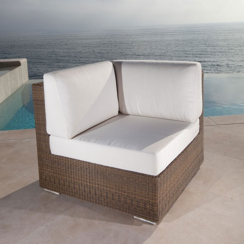 woven wicker indoor sectional sets