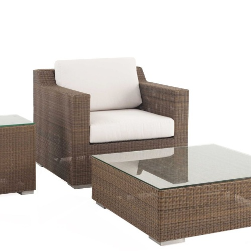 elegant wicker patio 3 Pc Set