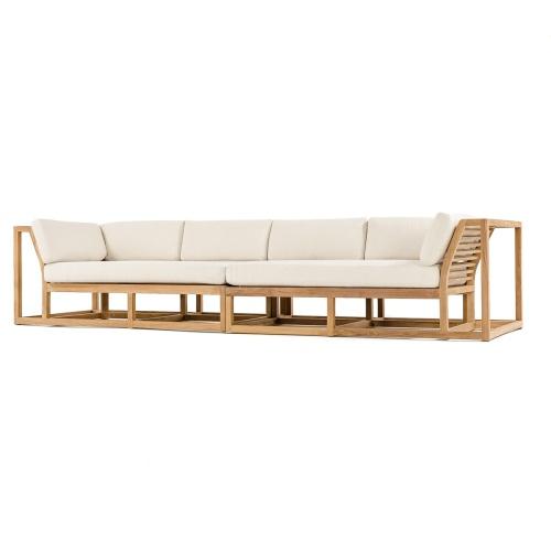 teak outdoor sofa same day shipping