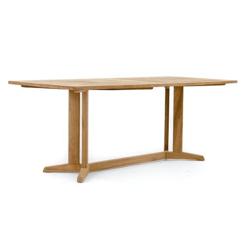 72 Inch Rectangular Wooden Table