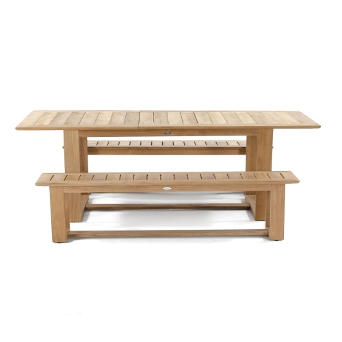 patio picnic table set teak